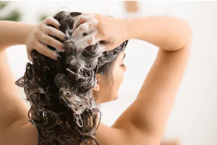 crèmespoeling of haarmasker